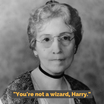 -You're not a wizard, Harry.-